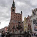 Rathaus und Neptunbrunnen