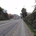 verlassene Straßen von Göteborg