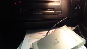 Festplatte im Handschuhfach