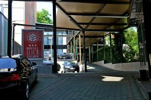 Innenhof Hotel Ilica