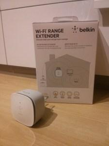 Belkin Wi-Fi Range Extender N300