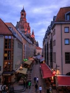 Dresden in der Glaskugel