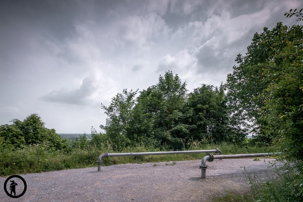 Gipfel der Halde Ewald-Fortsetzung