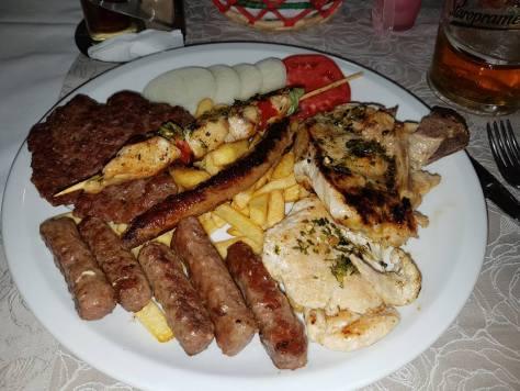 Mittagessen in Bosnien