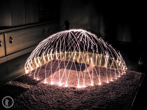 Lightpainting - Dome