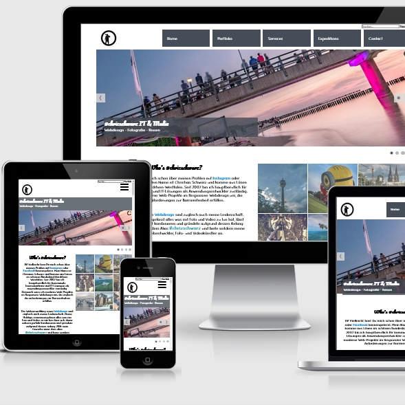 Responsive Webdesign chris-schwarz.de