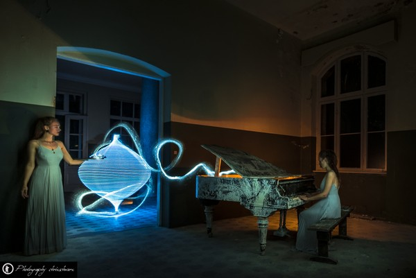 Lightpainting in Beelitz - mit zolaq und go2know