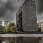 Ehrenmal zum Aufstand im Warschauer Ghetto