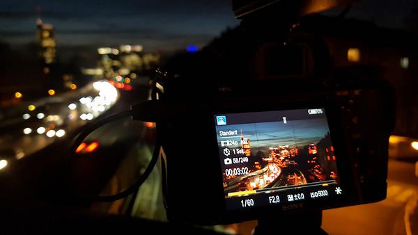 Sony Zeitraffer-App im Einsatz