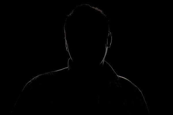 Dunkelfeldfotografie Portrait