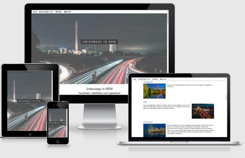 Internetseite unterwegs-in-nrw.de