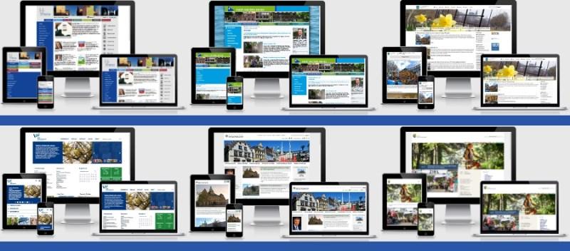 Internetauftritte kommunaler Verwaltungen im Responsive Webdesign