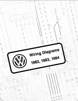 VW Wiring Diagram PDFs; 1982, 1983, 1984 | chrischemidlin