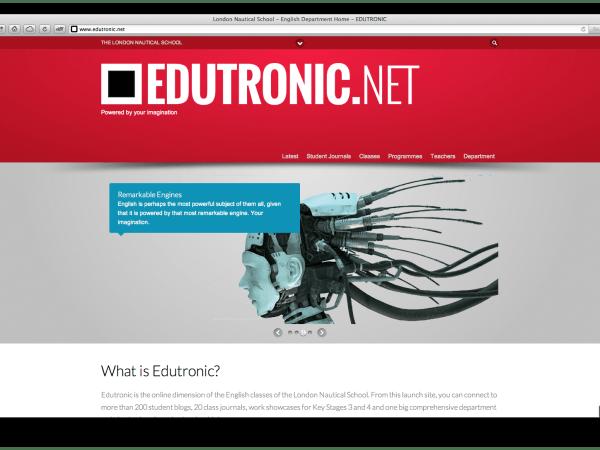 The Main Page of Edutronic.net