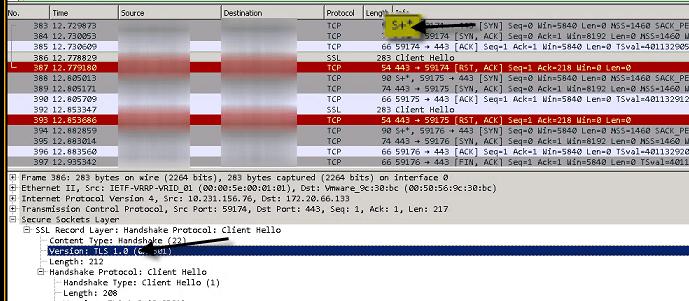 TLS Server Capture