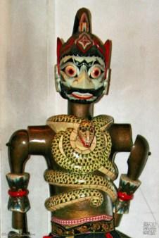 bima - wooden puppet