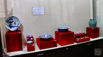 collections in the museum (barang koleksi museum)