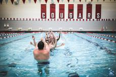 Pool Relay Races and Team Swim