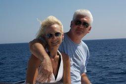 Kim and Ted Robinson