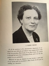 Remember Miss Crosby?