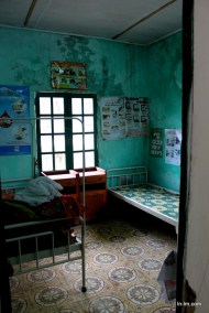 The local villagers' hospital, healthcare is free for the poor villagers