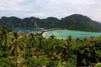 The viewpoint at Koh Phi Phi Don