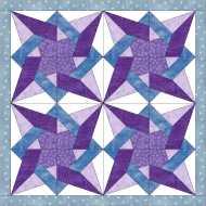 tangled star quilt
