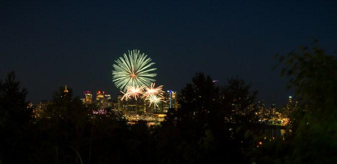 Canada day - fireworks