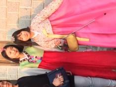 Seoul Hanbok girls