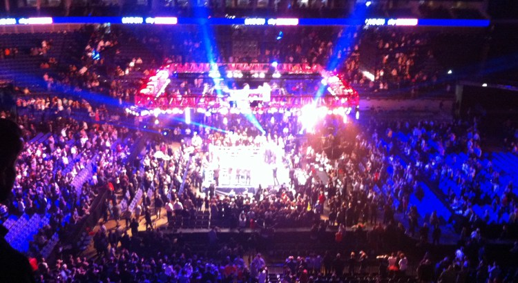 Picture of a boxing ring