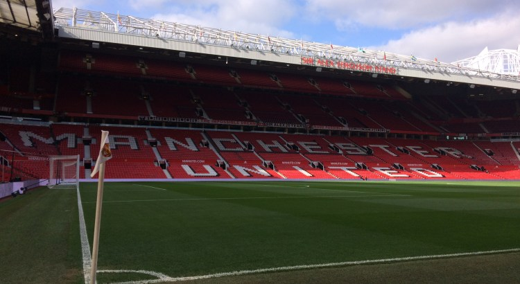 Picture of Old Trafford pitch