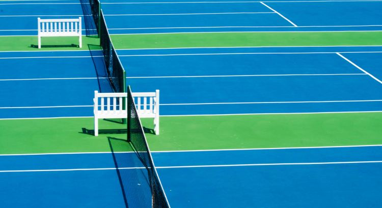 Picture of hard courts