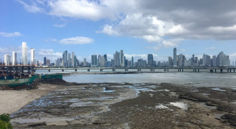 Picture of Panama City skyline from Casco Viejo