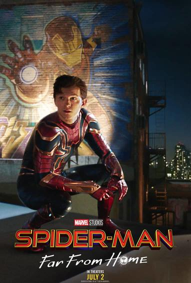 Far From Home Tony Spidey