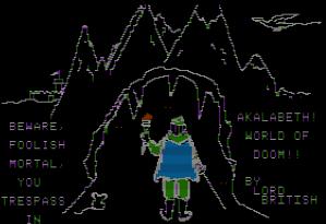 akalabeth 1970s gaming