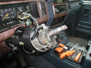 Ignition Actuator Replacement on an '85 wtilt  Ford Bronco Forum