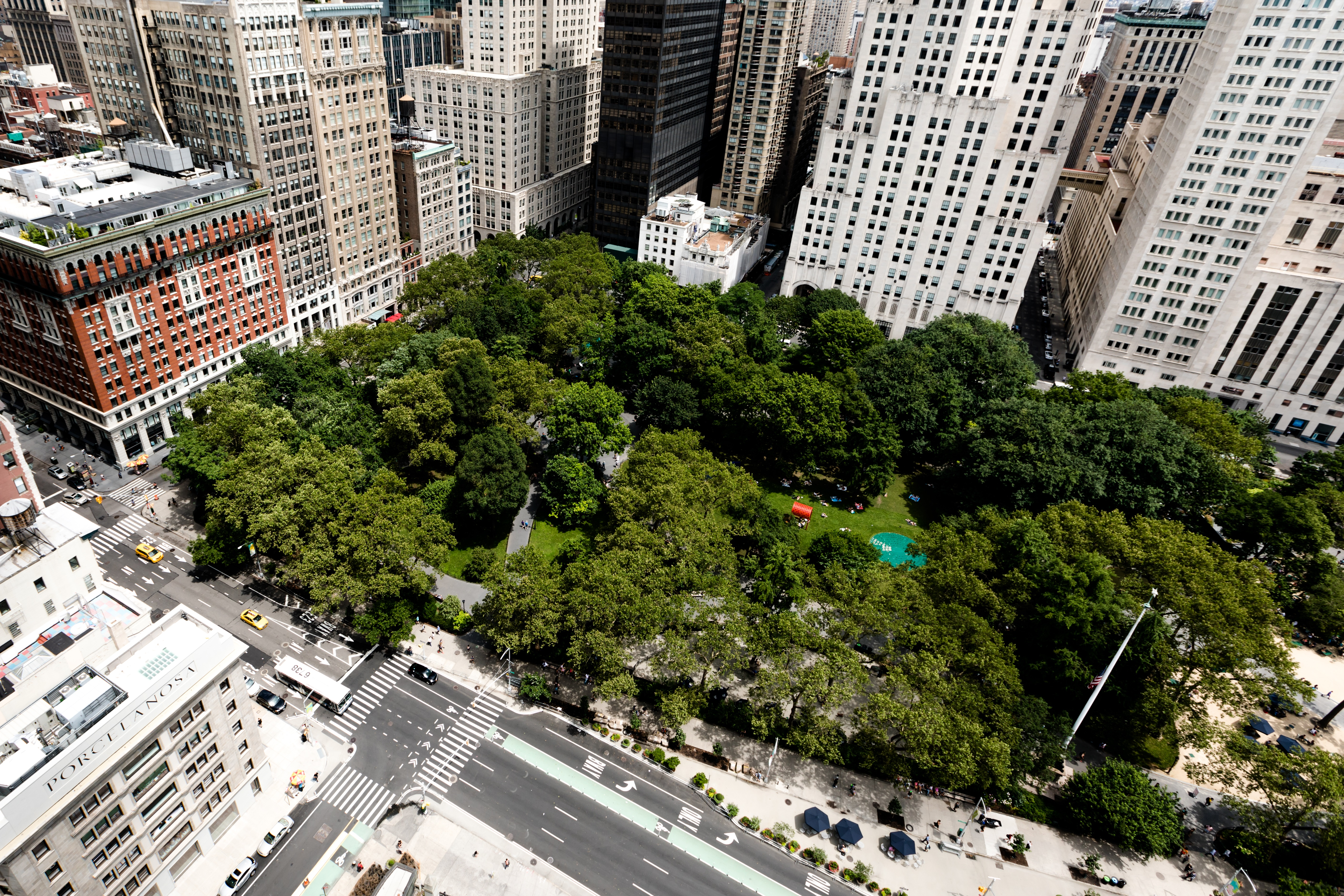 Madison Square Park, New York City, The Initiation