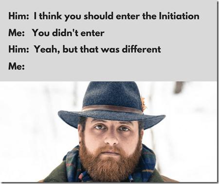 The Initiation meme 8, memes, man