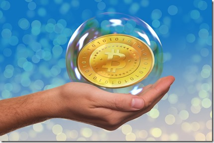 Bitcoin inside soap bubble, cryptocurrencies, It's Time to Learn About Bitcoin, young adult, chrisbabu.com