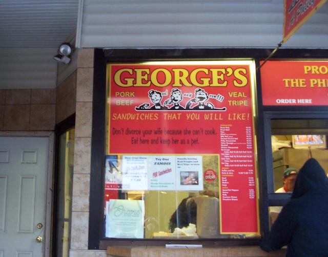 George's Sandwich Shop, Philadelphia, PA