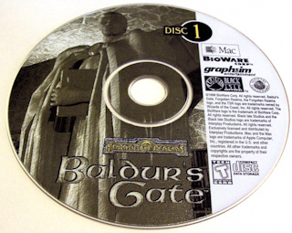 Baldur's Gate CD