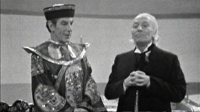 Screencap of The Celestial Toymaker via the BBC
