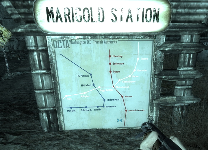 Fallout 3 Subway Map