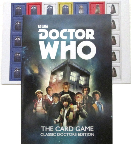 Doctor Who Card Game Classic Doctors Edition