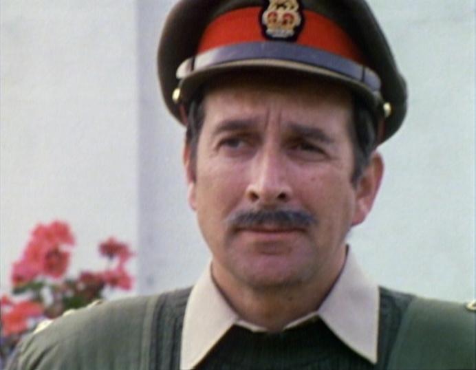 A bemused Brigadier