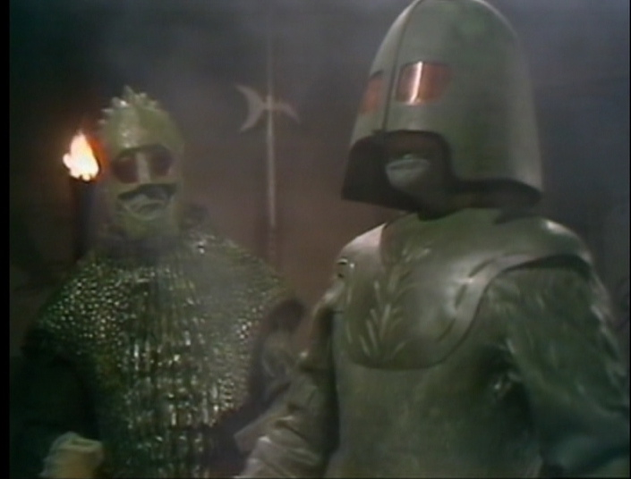 The Ice Warrior delegation to Peladon