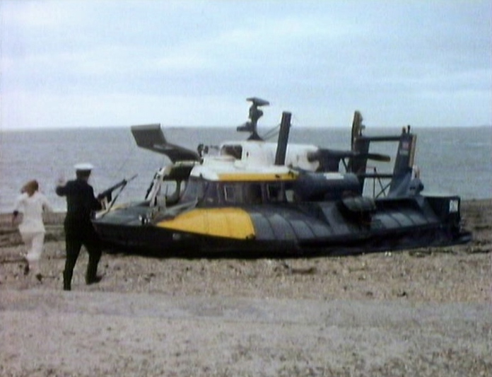 No hovercraft were harmed in the making of this story.