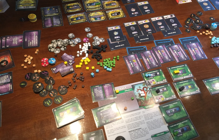 Sidereal Confluence in play.