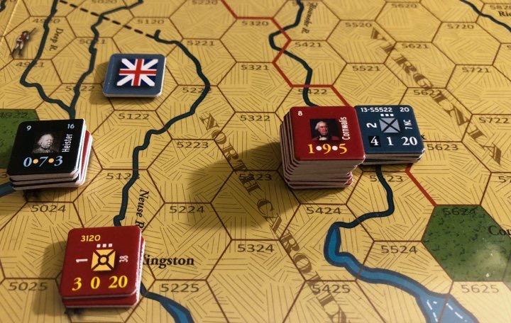 End of Empire, Turn 13, Cornwallis at Halifax, NC