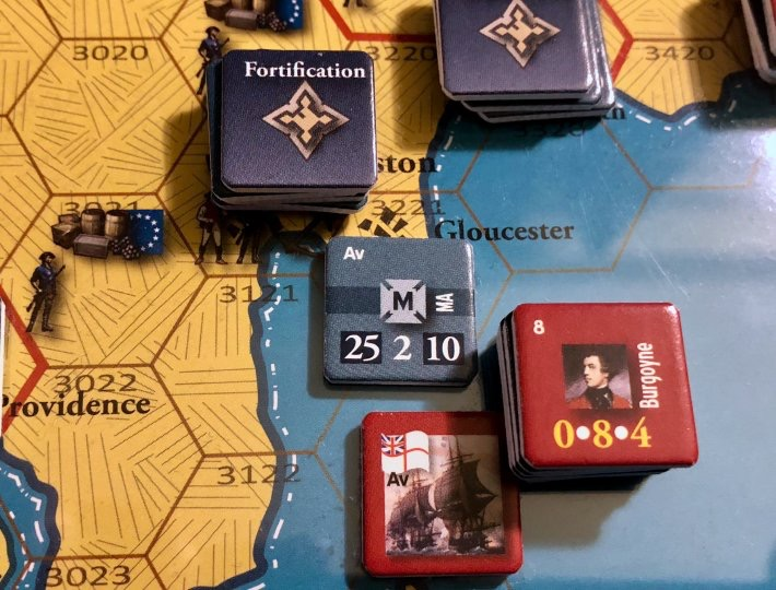 End of Empire, Turn 14, The Invasion of Gloucester